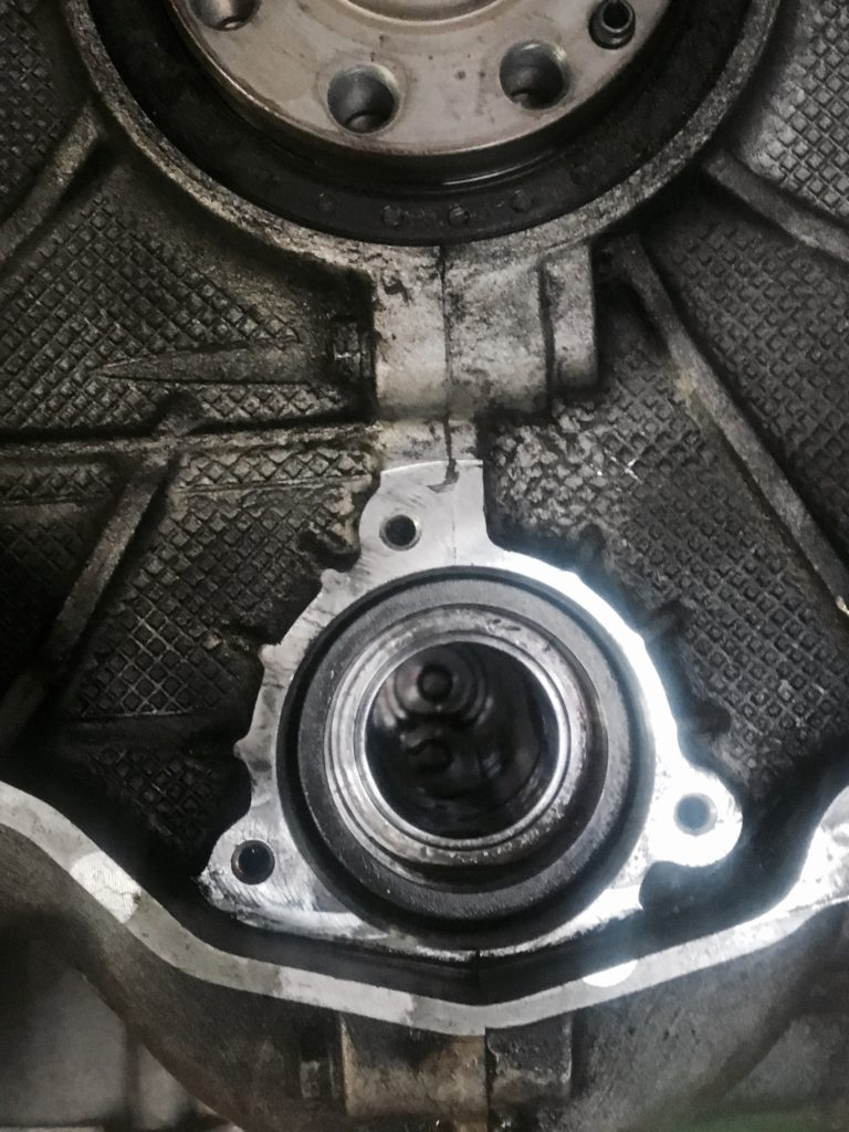 Bearing successfully removed